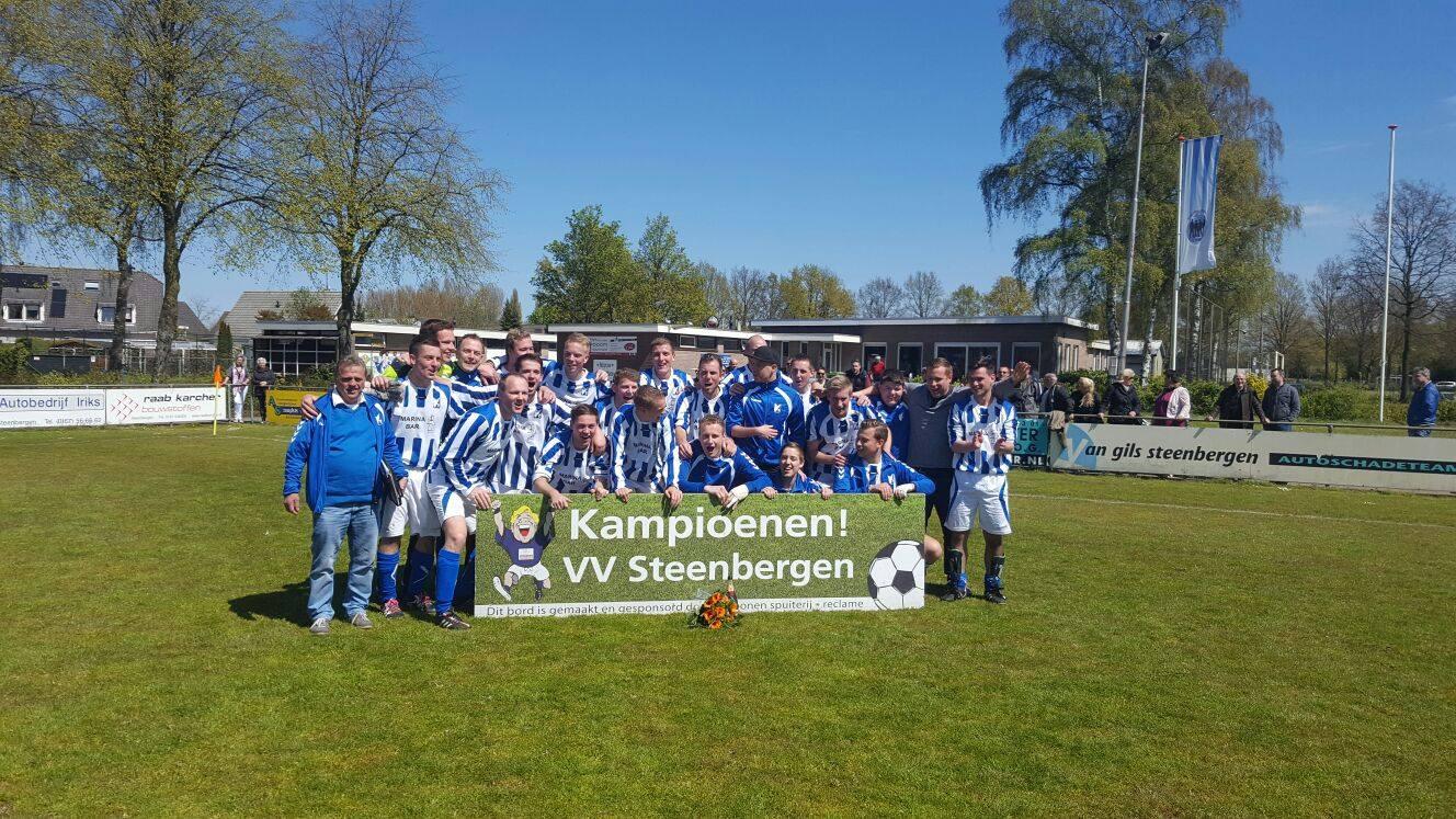 "Seizoen 2015/2016: V.V. ""Steenbergen"" zondag2 (kampioen reserve 3e klasse A)"