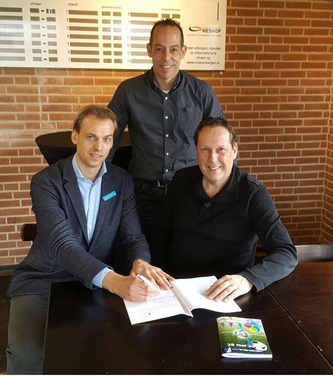 Ondertekening sponsorcontract